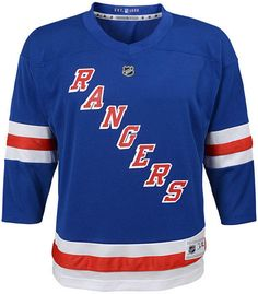 3b4eb09f7 Authentic Nhl Apparel New York Rangers Blank Replica Jersey