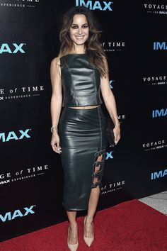 Berenice Marlohe arrives at the premiere of Voyage Of Time The IMAX Experience