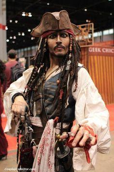 Captain Jack Sparrow - C2E22012