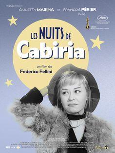 Réalisé par Federico Fellini (1957) Bob Fosse, George Clooney, Films Étrangers, Film Science Fiction, Pier Paolo Pasolini, Drame, Movie Posters, Best Music, Film Poster