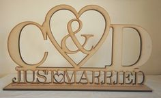 Google Image Result for http://i.ebayimg.com/t/LARGE-Top-Table-Wedding-Sign-Heart-and-Initials-with-Just-Married-DIY-Item-/00/s/NTA4WDgyOQ%3D%3D/%24T2eC16V,!ygE9s7HI7iHBQ,tMJG!VQ~~60_35.JPG