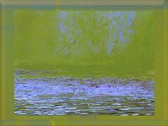 """'Kachel """"Wasserfall grünlila"""" pp' von Rudolf Büttner bei artflakes.com als Poster oder Kunstdruck $18.71"""