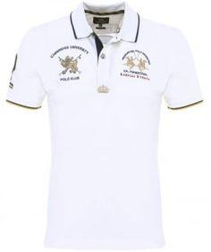 Slim Fit Clive Polo Shirt La Martina Polo, Mens Polo T Shirts, Camisa Polo, Polo Ralph Lauren, Fashion Looks, Slim, Mens Fashion, Fitness, Men's Polo
