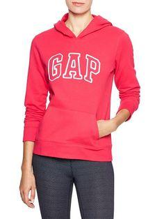 Factory arch logo fleece hoodie