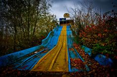 #Dadipark in Dadizele, Belgium: Theme Park closed in 2002 after a series of accidents