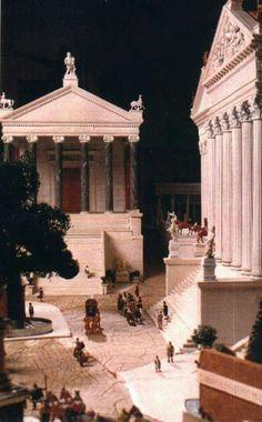 Roman Forum - scale model