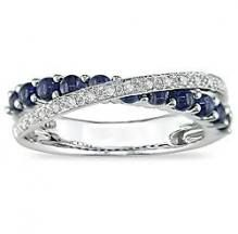 FANCIME White Gold Plated 925 Sterling Silver CZ Cubic Zirconia Created Blue Round Sapphire Tennis Bracelet For Women Girls, Length – Fine Jewelry & Collectibles Celtic Rings, Celtic Wedding Rings, Wedding Rings For Women, Wedding Bands, Wedding Shit, Wedding Ideas, Dream Wedding, Eternity Ring Diamond, Diamond Rings