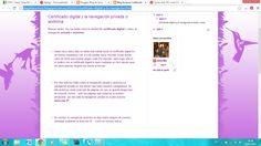 Blog sobre el certificado digital en la dirección:  http://blogdelauraruiz.blogspot.com.es/2014/01/certificado-digital-y-la-navegacion.html