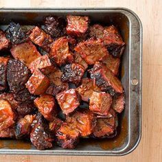 Recipe ~ BBQed BURNT ENDS ~ Cook's Country