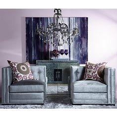 Z Gallerie - Royce Corner Chair