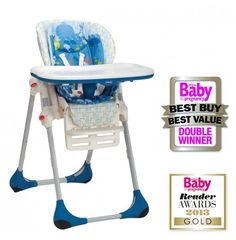 Chicco Polly 2 in 1 Highchair - Sea World