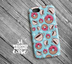 Tea n Donut iPhone 6s Caseiphone 6s Plus by LoudUniverse on Etsy