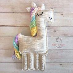 Crochet Unicorn- free pattern
