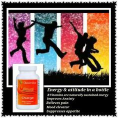 Charge ahead with your day!  A great pick-me-up! www.omnitrition.com/juliehamon