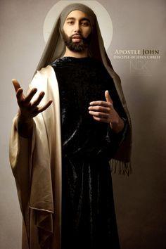 """Apostle John: Noir Bible"" by International photographer James C. Lewis"