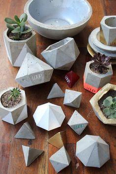 macetas de plastico cubierta cemento - Buscar con Google