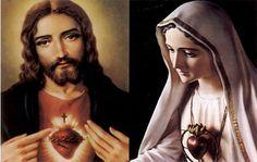 Sagrado Corazon De Jesus y Maria