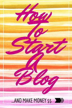 If you don't have a blog yet - here is a step by step starting point :)
