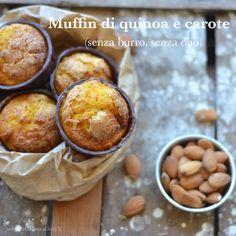 Muffin di quinoa e carote (senza burro, senza olio)