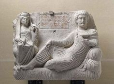 Relief of Maliku First half of century AD Syria (Palmyra) limestone Louvre Museum (AO Ancient Persian, Ancient Art, Ancient History, Classical Mythology, Ancient Near East, Archaeology, Les Oeuvres, Lion Sculpture, Louvre