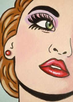 Princess of the Woodlands Pop Art Girl, Up Girl, Arte Pop, Cultura Pop, Comic Books Art, Comic Art, Book Art, Arte Do Pulp Fiction, Arte Black
