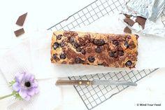 Blauwe bessen cake met chocola - Mind Your Feed