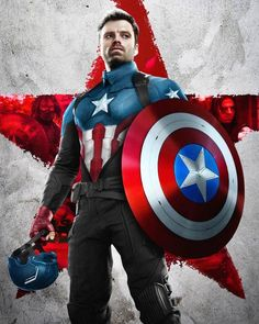 Captain America Winter, Captain America Films, Bucky Barnes Captain America, Captain America Shield, Captain America Costume, Avengers Movies, Marvel Characters, Marvel Movies, Marvel Heroes