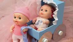 Cómo hacer coche de muñecas en Goma Eva o foamy