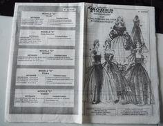 patron modes et travaux, 5 robes de bal poupée mannequin, novembre 2005 in Loisirs créatifs, Crochet, tricot, Patrons, modèles | eBay