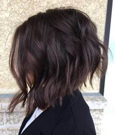 10 Inverted Bob Cuts to Try Out: #1. Inverted Bob Dark Hair