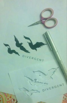 How to make your own temporary tattoo DIY Divergent Tattoo