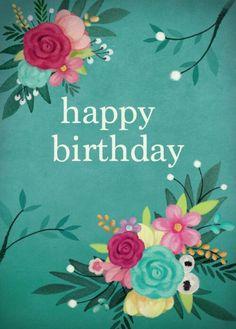 Happy birthday verjaardag gefeliciteerd