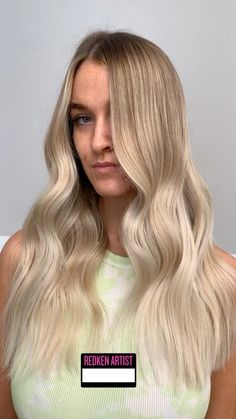 "BALAYAGE BOSS on Instagram: ""WATCH OUT NOW 👀 @redken @behindthechair_com @laura.red.pure #redkenxbtc  Express blonde service with #shadeseq 10VV& 10T"" Boss, Long Hair Styles, Watch, Red, Beauty, Instagram, Clock, Long Hair Hairdos, Bracelet Watch"