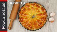 Τυρόπιτα διαφορετική από όλες τις άλλες | foodaholics | Flower shaped ch... Pineapple, Cheesecake, Brunch, Food And Drink, Favorite Recipes, Snacks, Baking, Fruit, Breakfast