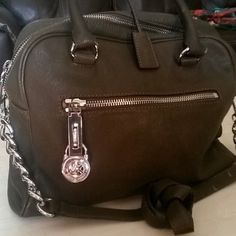 Authentic soft nice leather Michael Kors bag Very good clean and like new one Michael Kors Bags Shoulder Bags