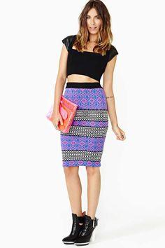 Nasty Gal Moffit Skirt