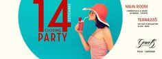 CLOSING PARTY – GRACE K – PULA – SABATO 14 SETTEMBRE 2013