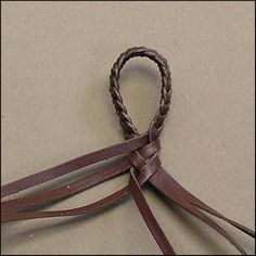 - 6 Strands : Leather Braiding by John