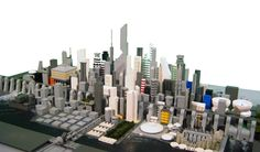All sizes | Futuristic City Lego Microscale Experiment | Flickr - Photo Sharing!