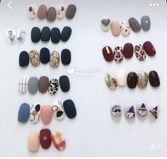 Cute and Pretty Nail Art Designs for Summer - Page 19 of 20 70 Fancy Nails, Cute Nails, Shellac Nails, Acrylic Nails, Holloween Nails, Art Deco Nails, Korean Nail Art, Pretty Nail Art, Manicure Tips