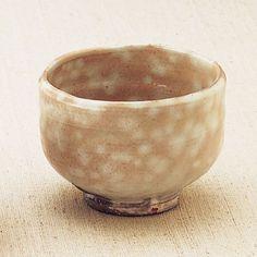 Tea Ceremony Cup, Round, by Kunisuke: Hagi-yaki #Japan #yamaguchi