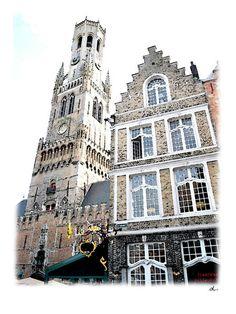 'Erbauliches in Brügge, Belgien – 14/15' von Dirk h. Wendt bei artflakes.com als Poster oder Kunstdruck $18.03