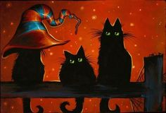 Google Image Result for http://www.ebsqart.com/Art/cat-fantasy/acrylic-on-wood/630850/650/650/Three-Black-Cats-One-Witch-Hat.jpg