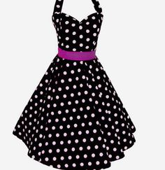 Decide itd be amazing to live on the 50's so I could were clothes like this everyday. <3