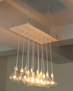Urban Chic Chandelier with reclaimed wood by urbanchandy on Etsy, $495.00