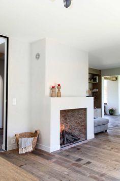 Shabby Chic Living Room Ideas Foyers Ideas For Fireplace Decor, Home Fireplace, Shabby Chic Living Room, House Interior, Apartment Room, Home Living Room, Chic Living Room, Minimalist Fireplace, Living Room Diy