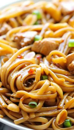 If you have ever been to California Pizza Kitchen then you are probably already aware of how tasty their food is. If you have not been there before then you must try this California Pizza Kitchen Kung Pao Spaghetti Copycat recipe right now. Kung Pao Spaghetti Recipe, Spaghetti Recipes, California Pizza Kitchen, Slow Cooker Recipes, Cooking Recipes, Fondue Recipes, Pizza Recipes, Asian Cooking, Kitchen Recipes