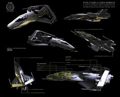 300i Concept for Chris Robert's Star Citizen by Kemp Remillard | Sci-Fi | 2D | CGSociety