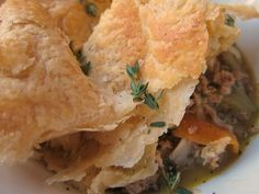Rustic Turkey and Vegetable Pie Recipe on Yummly