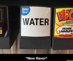 New flavor water... #Funny #Memespic.twitter.com/qfVCF69T3s http://ibeebz.com